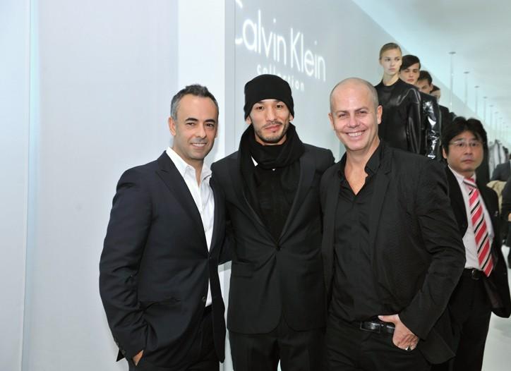 Francisco Costa, Hidetoshi Nakata and Italo Zucchelli