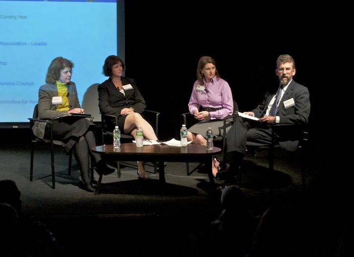 Laura M. Baughman, Linda Menghetti, Erin Ennis and  Stephen E. Lamar.