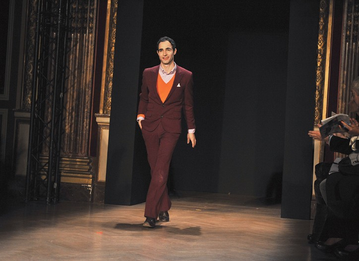 Zac Posen showed in Paris for the first time.