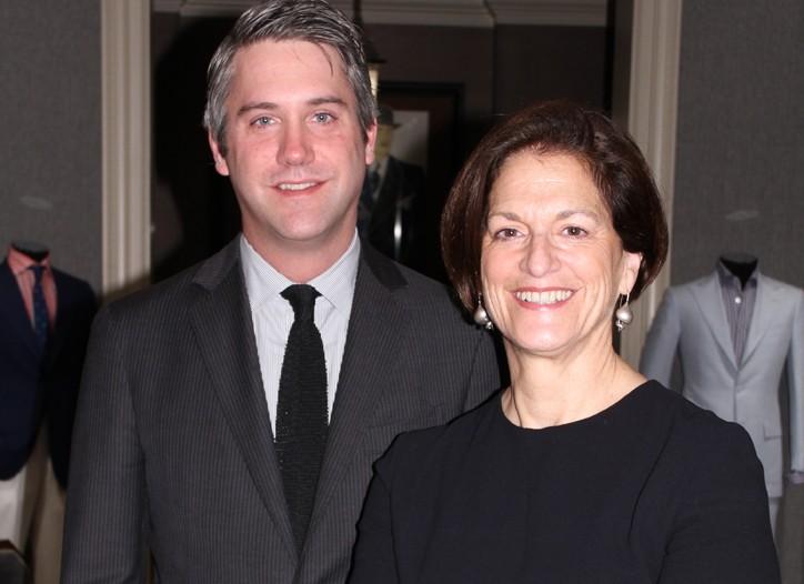 Margaret Spaniolo and Brooks Thomas.