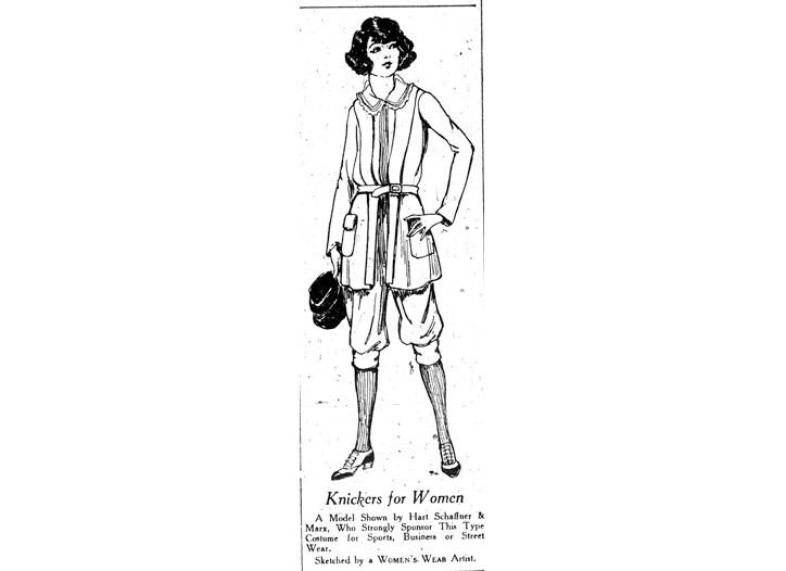September 1, 1921: Breech Babes