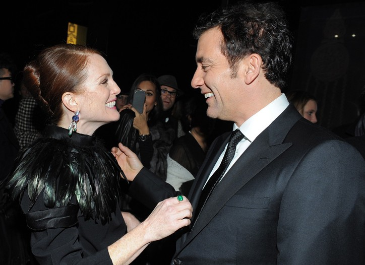 Julianne Moore and Clive Owen