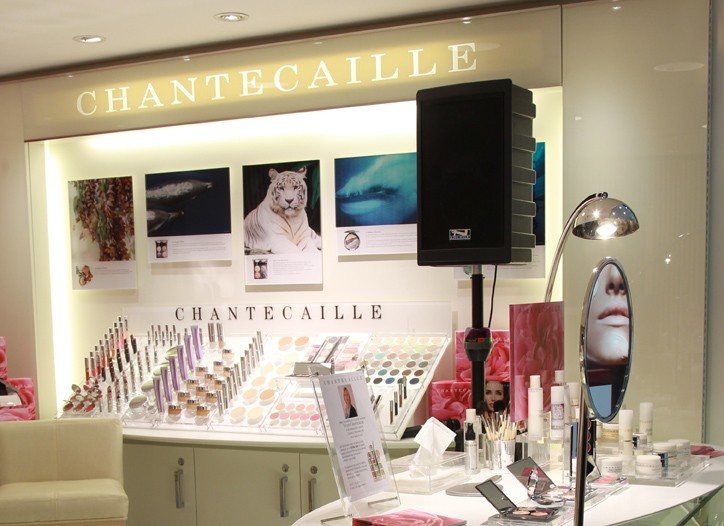 Sylvie Chantecaille store inside Bloomingdale's.