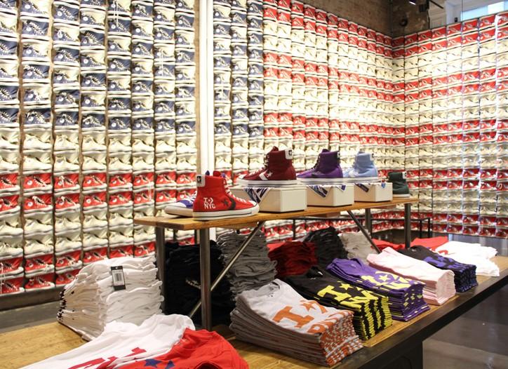 Converse's Soho store.