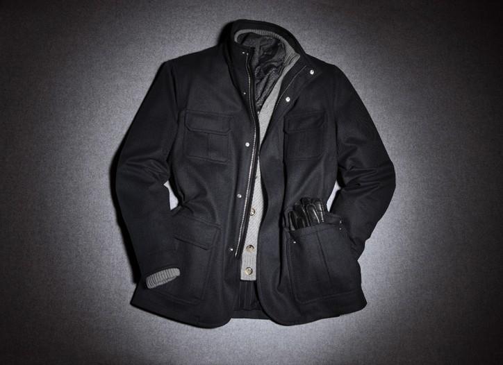 Zegna's Elements jacket.