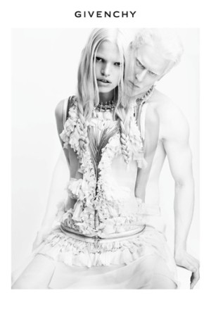 An ad from Givenchy's spring 2011 campaign.