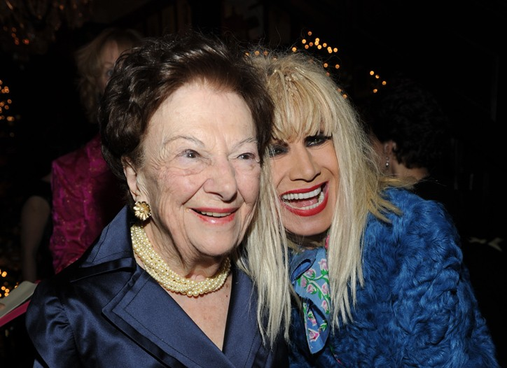 Ruth Finley and Betsey Johnson