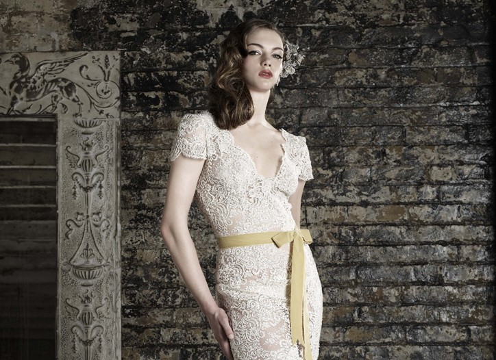 A bridal look by Bruce Oldfield.