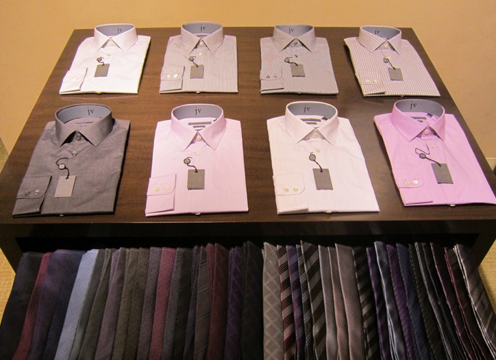 John Varvatos dress shirts are being offered by the Insignia division.