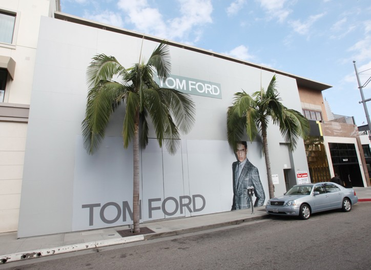 Tom Ford is headed to Rodeo Drive.