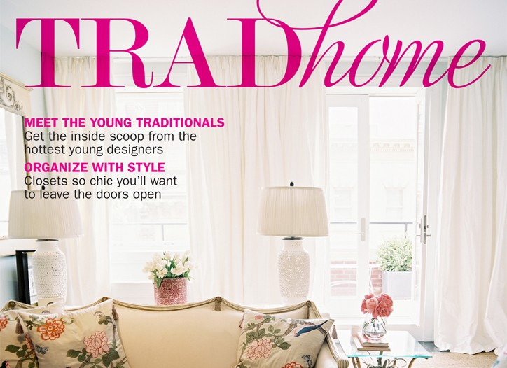 Cover of Trad Home.