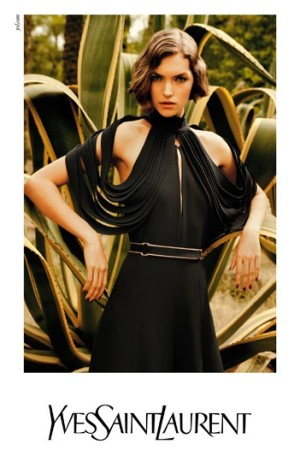 Yves Saint Laurent's spring-summer 2011 campaign