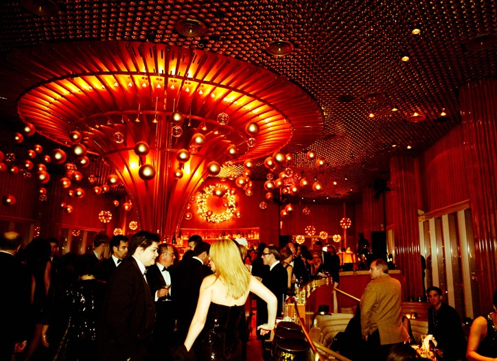 New Year's Eve at the Boom Boom Room