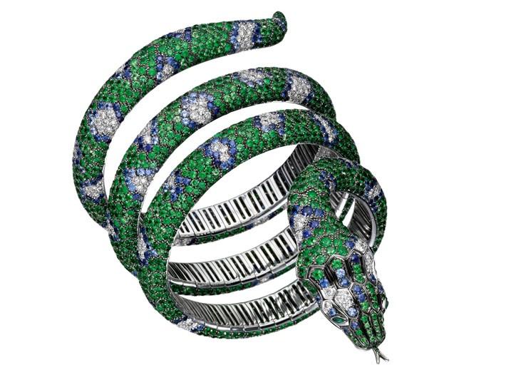 Boucheron's snake cuff