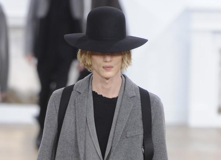 Light Gray: Dior Homme Men's RTW Fall 2011