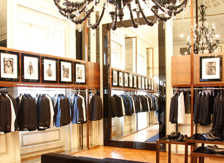 Dolce & Gabbana's store in Milan.