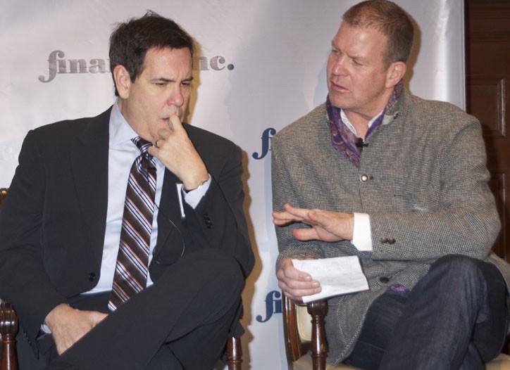 Daniel Schock and Chip Wilson
