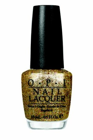 "OPI nail polish inspired from the film ""Burlesque."""