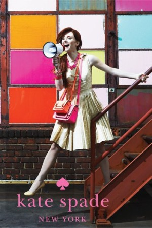 Bryce Dallas Howard in a Kate Spade ad for spring.