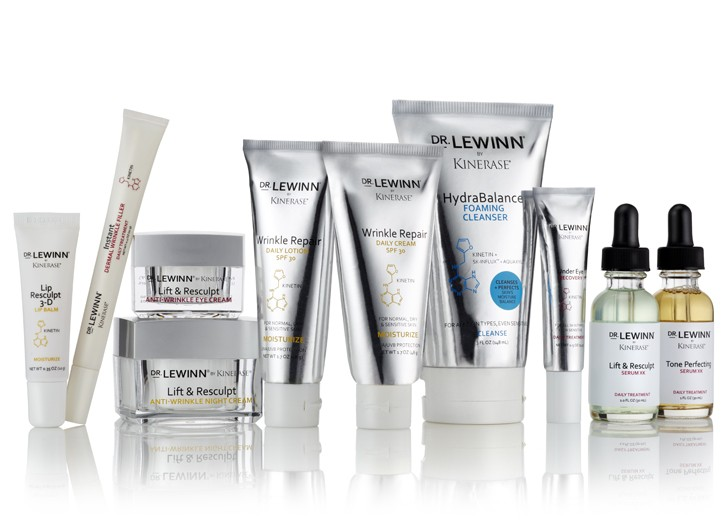 The Dr. LeWinn by Kinerase skin care range.