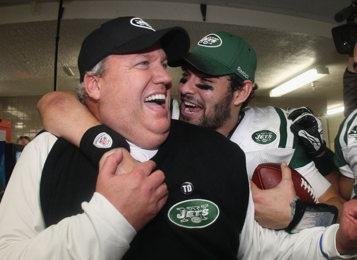 Rex Ryan and Mark Sanchez
