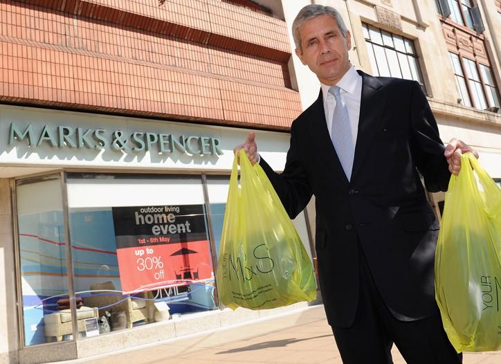 Sir Stuart Rose, former chairman of Marks & Spencer