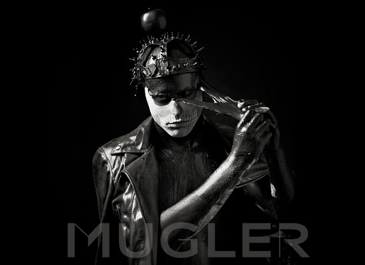 A look from the the Thierry Mugler teaser Campaign by Nicola Formichetti