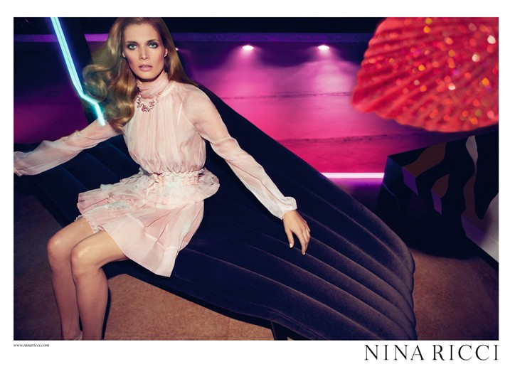An image from Nina Ricci's spring campaign.