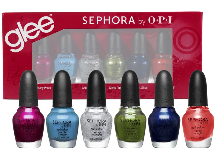 The OPI 'Glee' nail collection