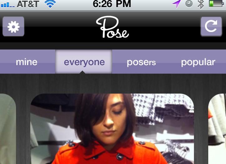The Pose app.