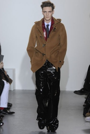 Raf Simons Men's RTW Fall 2011