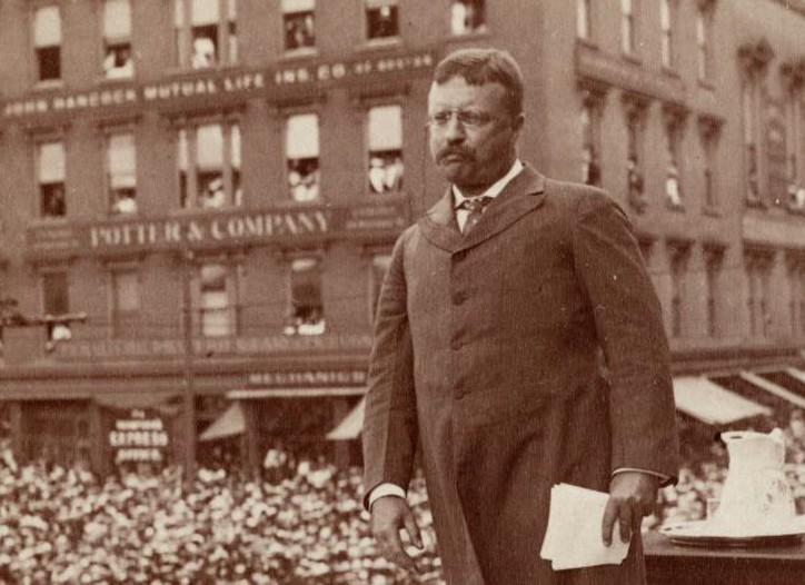 Theodore Roosevelt in Providence, R.I.