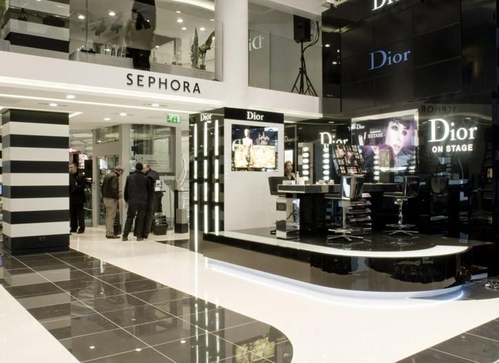 Sephora's Milan flagship.
