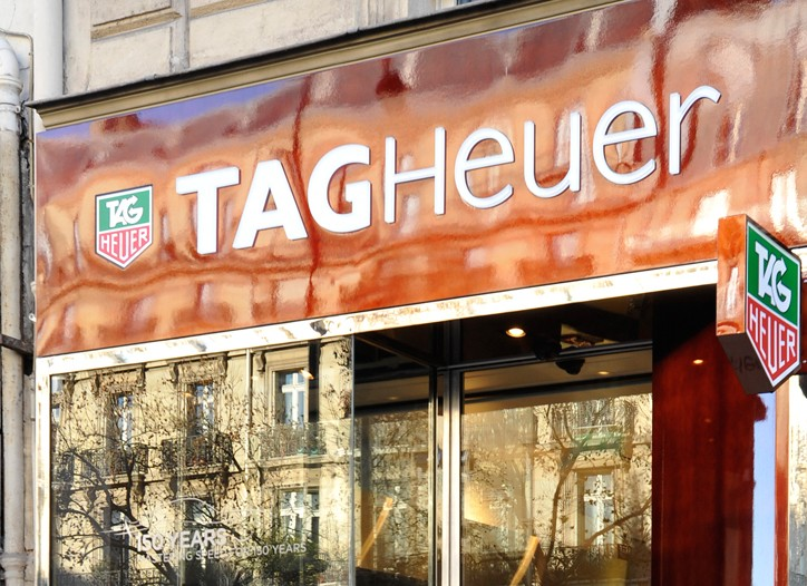 The new Tag Heuer in Paris.