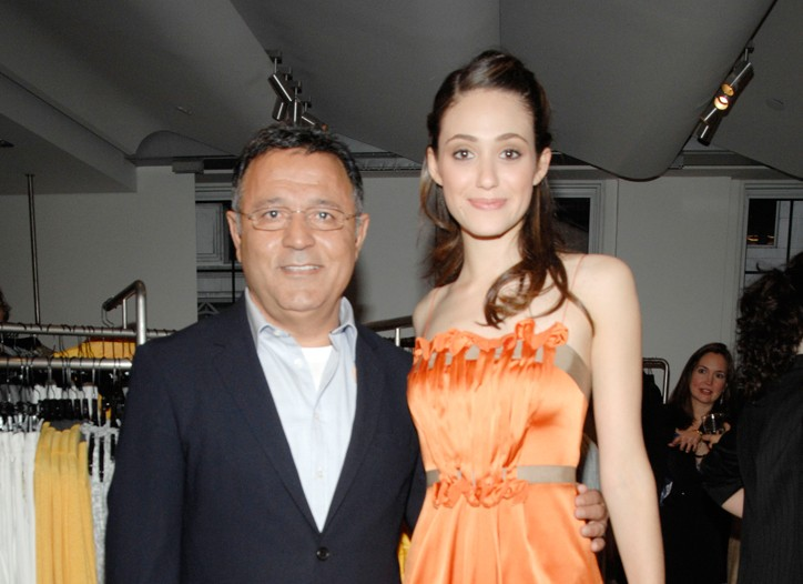 Elie Tahari and Emmy Rossum