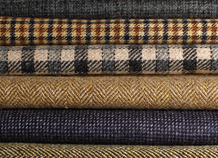 European mills are giving their heritage fabrics a fresh spin for fall 2012, playing with new finishes, blends and unexpected weights as consumers put a premium on innovation as well as tradition.
