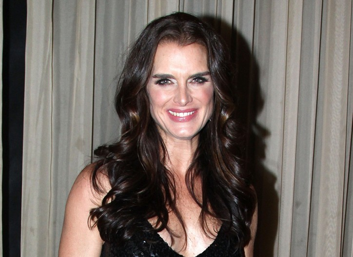 """Brooke Shields after her show """"In My Life."""""""