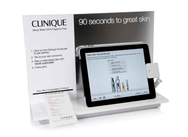 The iPad Skin Diagnostic Tool.