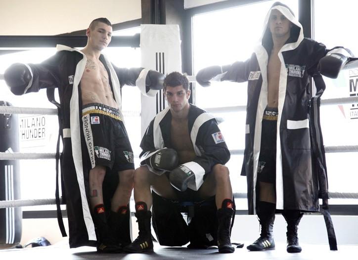 Milano Thunder boxers in Dolce & Gabbana.