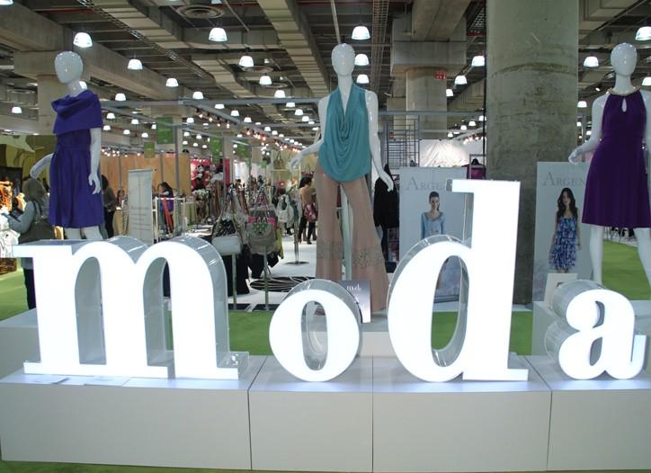 Moda trade-show show entrance.