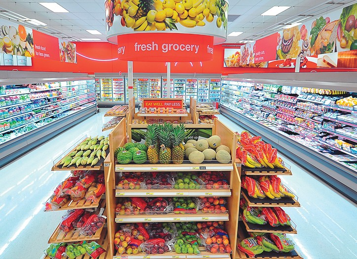 Target cited PFresh as an initiative that will drive sales.