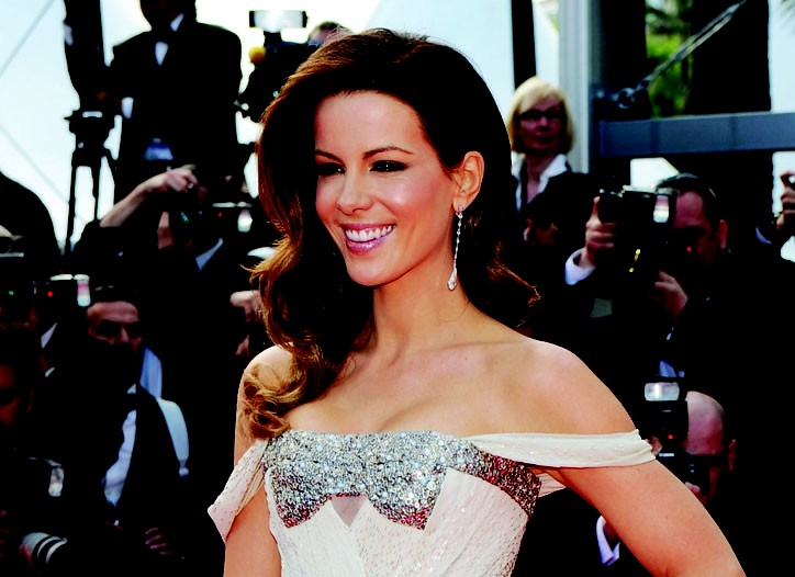 Kate Beckinsale wears Gucci Première at the 3rd Annual Cannes Film Festival in 2010.