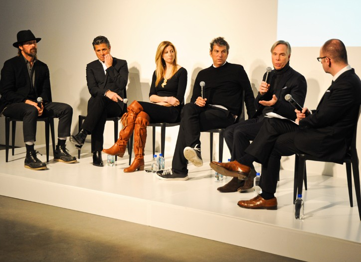 Rogan Gregory, Jeff Rudes, Stephanie Rosenbloem, Andrew Rosen, Tommy Hilfiger and Simon Collins.
