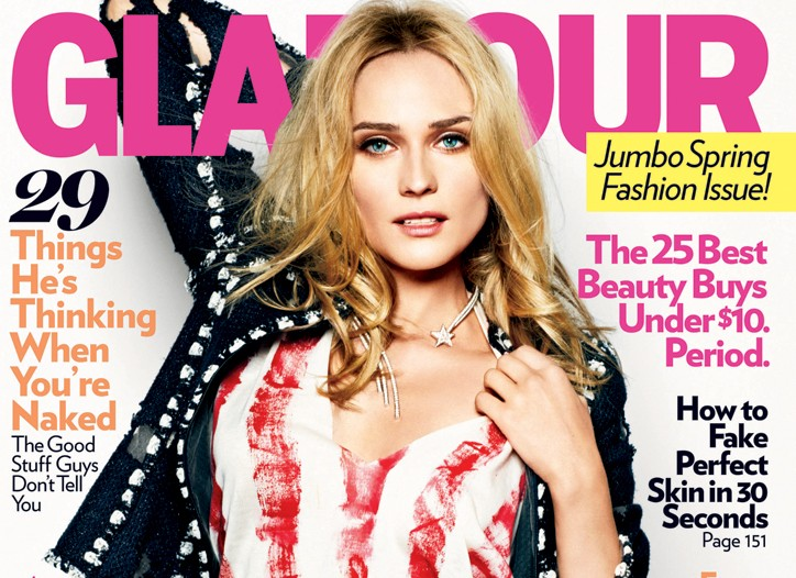 Glamour March 2011