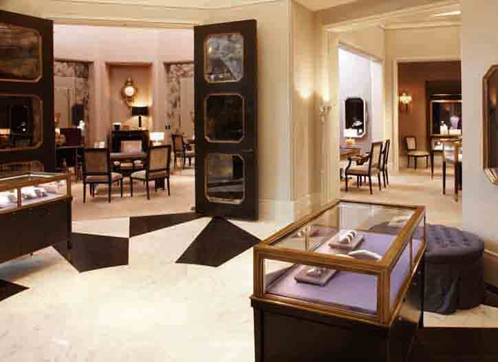 Harry Winston store at Crystals at CityCenter in Las Vegas