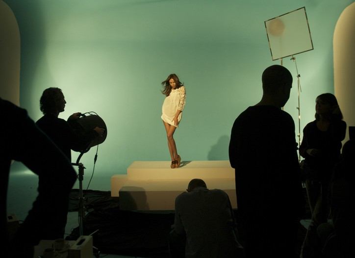 The making of the advertising campaign for H&M's Conscious Collection.