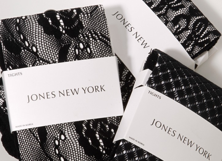 Jones New York's textured tights.