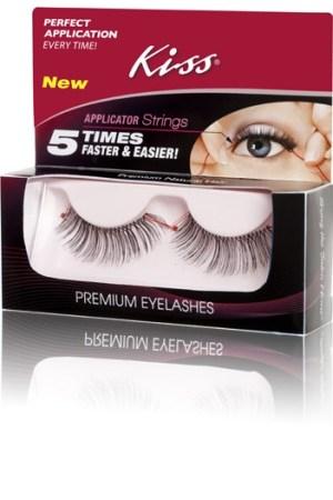 Fake eyelashes by Kiss