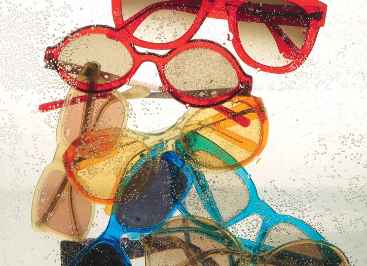 From top: Thierry Lasry, Marni, Oliver Peoples, Christian Roth, Bond 07 by Selima Optique, Celine, Bottega Veneta, Escada