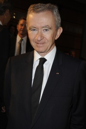 Bernard Arnault in Paris on Thursday.